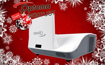 Новогоднее снижение цен на проекторы Optoma!
